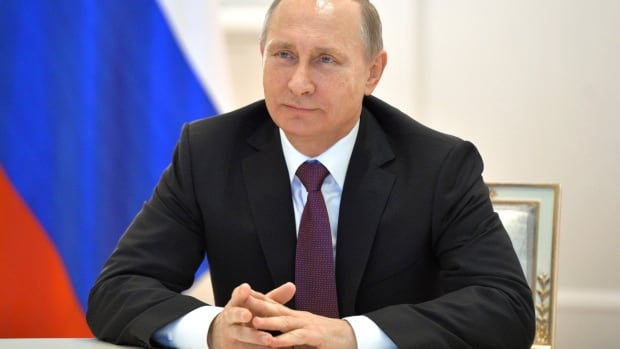 """Russian President Vladimir Putin said this week NATO was turning Ukraine into a """"frontline of confrontation"""" and threatened to sever remaining ties if Ukraine's hopes of joining NATO were realized."""