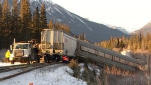 Banff CP derailment