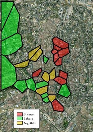 Tweeting for urban planning