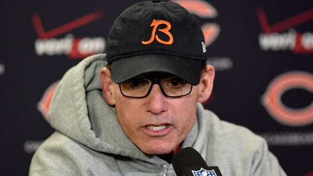 After two years with a 13-19 record Marc Trestman has been fired by the Chicago Bears.