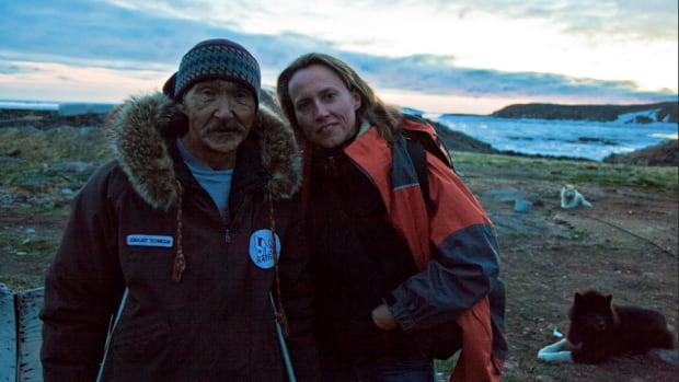 Harry Okpik and Director Laura Rietveld