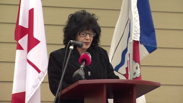 Lynn Brooks, seen here in 2014, advocated for a zero tolerance domestic violence policy in the legislative assembly in 1993. She's disappointed it didn't have enough teeth to stop Michael Nadli from running for re-election after he was convicted of assaulting his spouse.