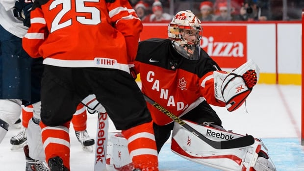 Zach Fucale who has allowed just one goal in two games at the World Junior Hockey  Championships, has been named to start Friday's quarter-final against Denmark.