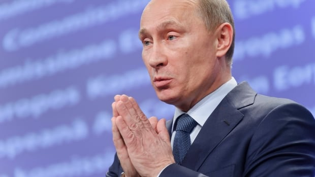 Vladimir Putin struck back at Western sanctions on Russia by slapping a ban on meat, seafood, milk and dairy products, fruit and vegetables from Canada, the U.S., the European Union, and other countries.