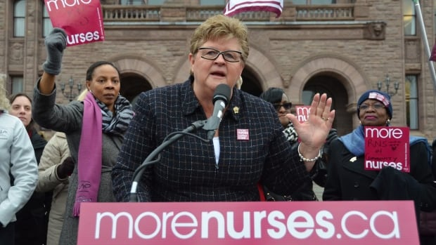 Linda Haslam-Stroud, president of the Ontario Nurses' Association, says there is an increasing number of patient assaults on staff in mental health facilities across the province.