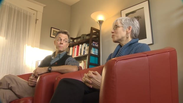 Mary and Peter Goodman speak about the effect of internet porn at their office in Halifax.