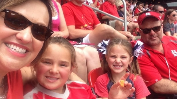 Seven-year-old Sailor Gutzler, second from right, may help investigators determine what caused a plane crash that killed her parents, Kimberly and Marty Gutzler, and her nine-year-old sister, Piper.