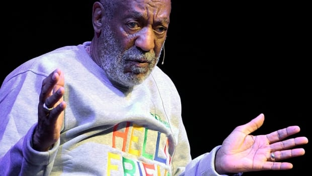 American comedian Bill Cosby, shown in a November show in Melbourne, Fla., has been under fire for weeks amid allegations of sexual assault by various women. He's wrapping up a three-show tour in Ontario on Friday night in Hamilton.