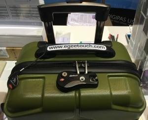 Digipas luggage lock