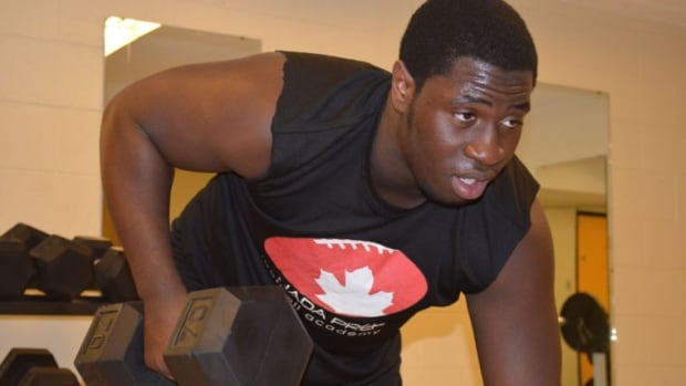 Neville Gallimore, 17, committed to the University of Oklahoma Sooners on Jan. 3, 2015. He's trying to be the first NFL player born in Ottawa.