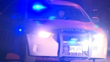 RNC cruiser blue lights