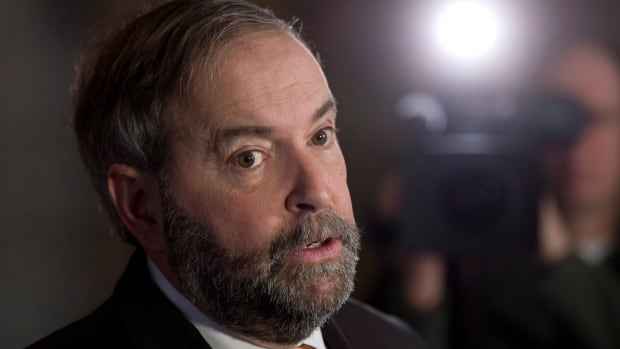 NDP Leader Tom Mulcair joined politicians from all parties in condemning Wednesday's shootings at the office of French satirical magazine Charlie Hebdo.