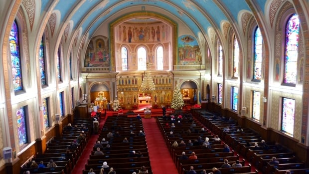 At Christmastime the pews of Canada's Catholic churches fill up with people celebrating the holiday season.