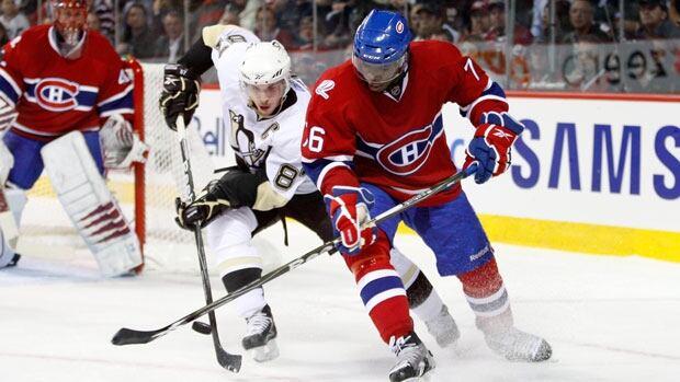 Hockey night in canada penguins vs canadiens cbc sports - Image hockey canadien ...