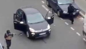 France Newspaper Attack Video