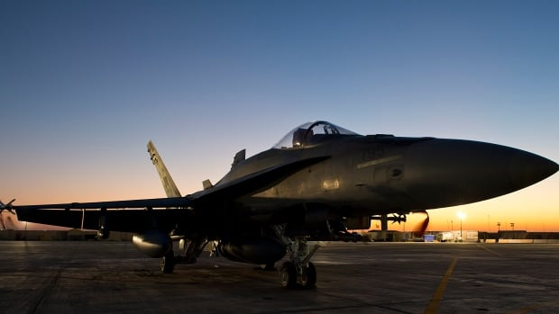 A CF-18 Hornet awaits its next mission against ISIS at the Canadian Forces base. Prime Minister Harper is announcing an extension and expansion of Canada's mission in Iraq, this week. Critics worry we may be repeating the mistakes of Libya and Afghanistan.