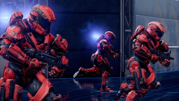 A scene from the video game Halo 5. Customized computer games have become a common training tool in the corporate sector - and a Privy Council memo says games are a good idea for the public service.
