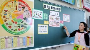 Nutrition educator in Japan