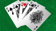 Poker Hand Nut-Straight