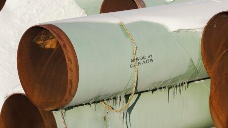 Keystone XL pipes
