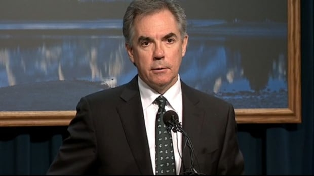 Alberta Premier Jim Prentice says Alberta would take a $10 billion hit if oil stays at $50 or under for a year.