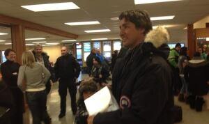 Justin Trudeau Inuvik airport