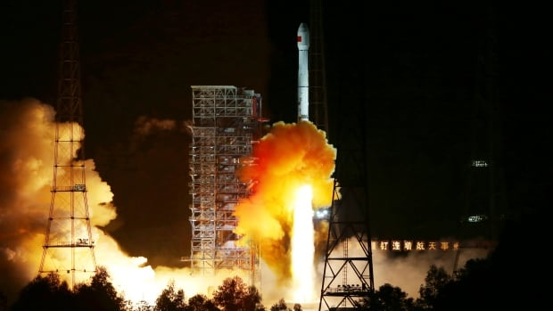 Long March 3C, carrying an experimental spacecraft part of a test leading to future return missions to the moon, lifts off from the Xichang Satellite Launch Center in Sichuan province in October 2014. State media reported Sunday that China's moon landing plans have taken a step forward.