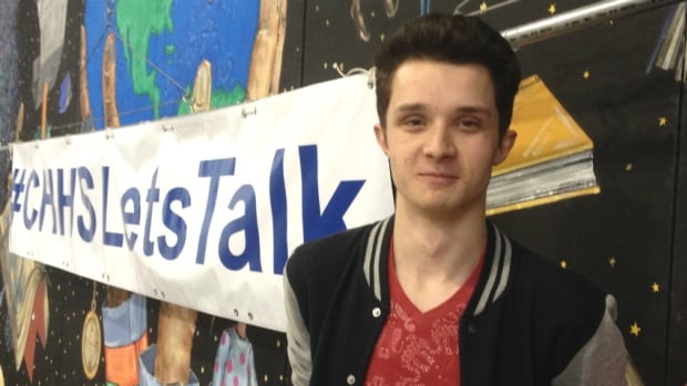 The #CHHSLetsTalk campain, started by Brett Rothery, student council president of Crescent Heights High School, has now garnered international attention.