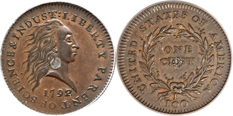 f36927b34519 Ultra-rare 1792 U.S. penny sold for nearly  2.6M