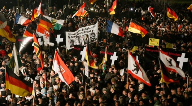 Germany anti-Islam anti-immigration protests
