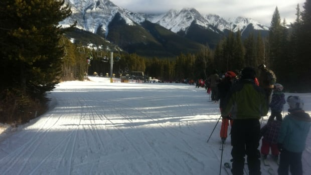 Nakiska Ski Resort, Jan. 13, 2015.