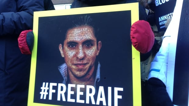 Montreal has been the site of several demonstrations in support of Saudi Arabian blogger Raif Badawi.