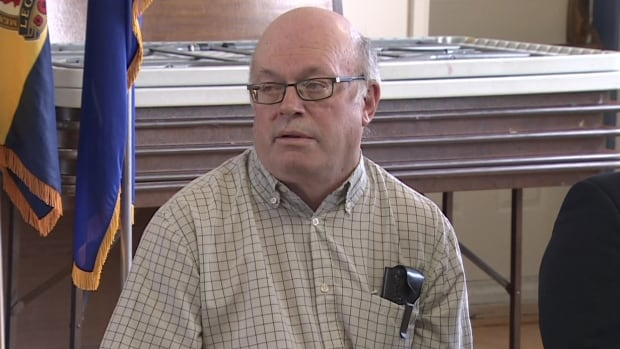 Keith Neville aired his concerns alongside NDP veterans affairs critic Peter Stoffer at a news conference in Whitney Pier Tuesday.
