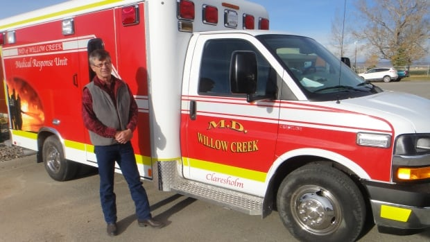 The M.D. of Willow Creek bought its own fleet of medical response vehicles because of concerns about wait times. The MRUs are sent to emergency scenes to stabilize patients while they wait for an Alberta Health Service's ambulance to arrive.