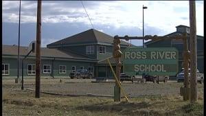 school, Ross River, yukon