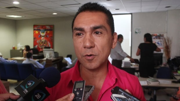 Fugitive former mayor Jose Luis Abarca is shown in an Oct. 29, 2013, has been in custody for nearly two months.