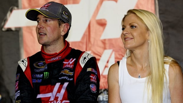NASCAR driver Kurt Busch, left, says e-girlfriend Patricia Driscoll told him she was a mercenary who killed people for a living.