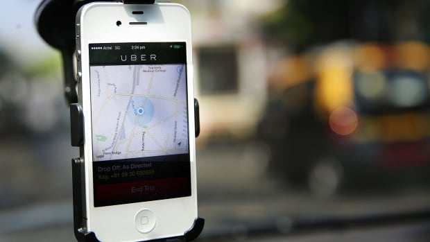 "Uber is a ride-sharing app that connects drivers with people looking for rides. It boasts offering its workers good money, flexible work hours and ""no office, no boss,"" according to its site."