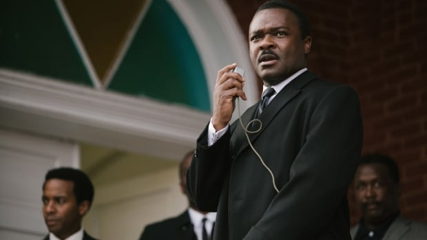 "In this image released by Paramount Pictures, David Oyelowo portrays Dr. Martin Luther King, Jr. in a scene from ""Selma."" The Academy Award-winning movie will screen in Thunder Bay as part of the Northwest Film Fest on April 12 and April 19.(AP Photo/Paramount Pictures, Atsushi Nishijima)"