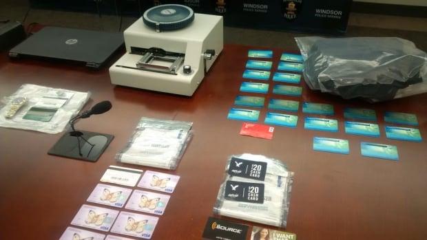 Windsor police bust credit card lab CBC News