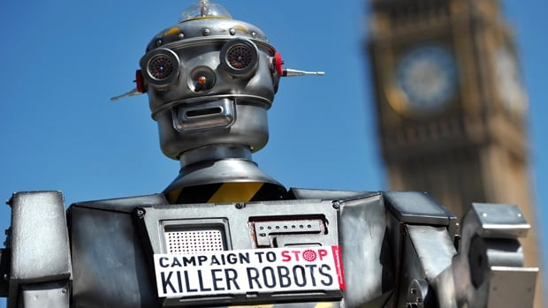 Canada is facing pressure to join calls for a global ban on lethal autonomous weapons.