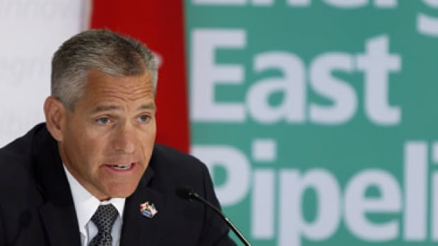 TransCanada CEO Russ Girling talks about the Energy East pipeline. On Thursday the company announced almost 700 changes to its plan and a new projected price of $15.7 billion.