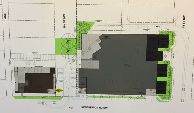 Kensington Legion plans