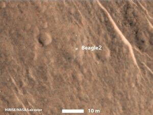 Europe Mars Mission Beagle lander