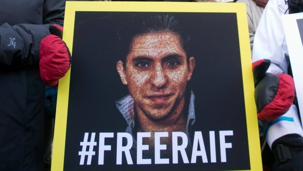 Proceeds from the birthday celebration went to the Raif Badawi Foundation.