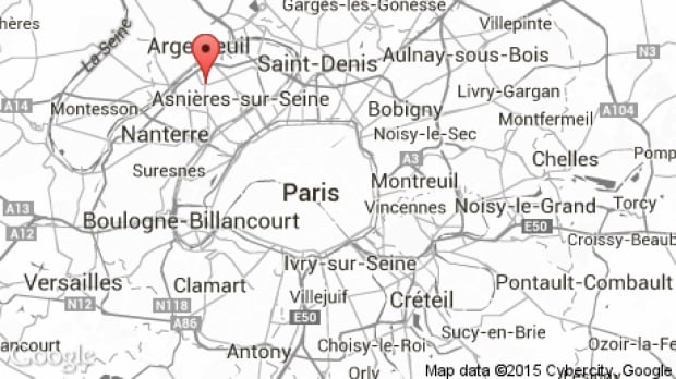 Paris hostagetaking at post office ends not terror related – Map of Paris and Suburbs