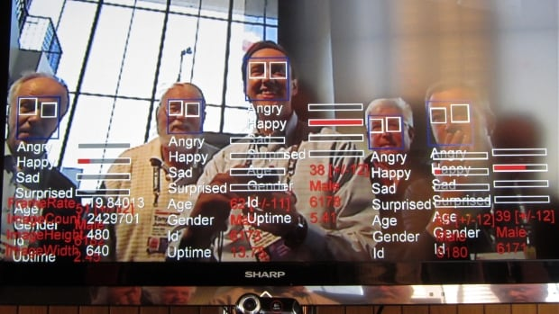 A computer tries to identify human emotions