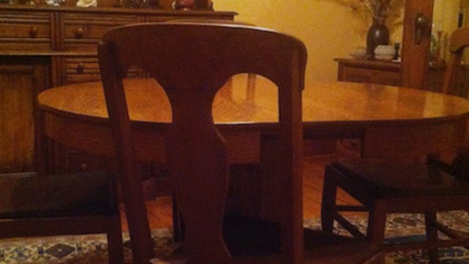 Family Conversations: It all begins around the dining room table.  Photograph courtesy of Stephen Doyle.