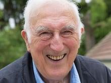 Jean Vanier. Photograph courtesy of L'Arche Canada.