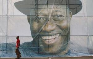 Goodluck Jonathan election poster